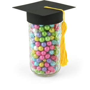 graduation hat small mouth topper