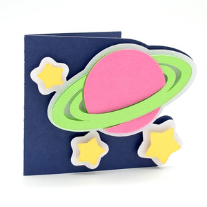 planet saturn card