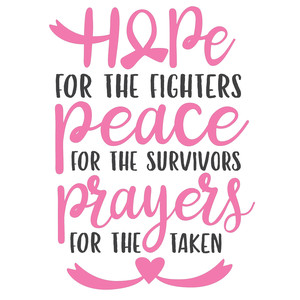 hope for the fighters - cancer awareness