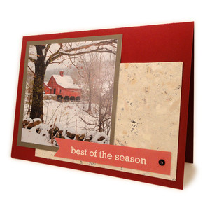 christmas photo card 5x7 kit