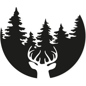 stag head forest
