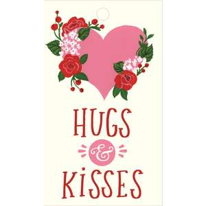 hugs & kisses tags