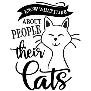 what i like about people cats