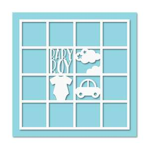12 photos baby boy layout frame