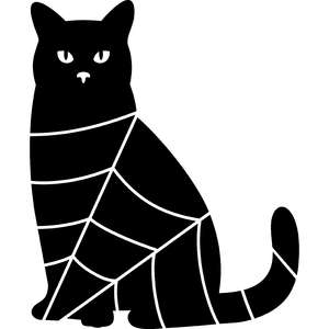 cat and web