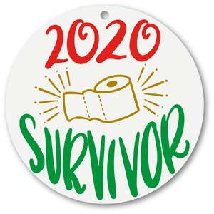 2020 survivor ornament