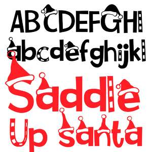 pn saddle up santa