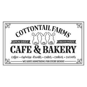 cottontail farms - easter cafe & bakery design