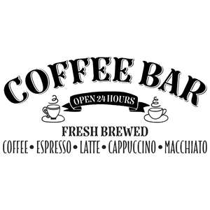 coffee bar - farmhouse design