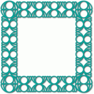 abstract card frame