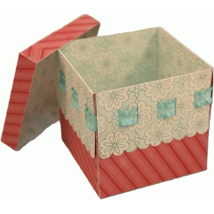 3d ribbon slot box