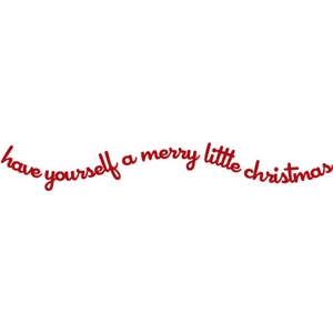phrase: Merry Little Christmas