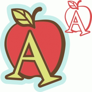 'a' is for apple (samantha walker)