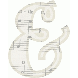 music ampersand