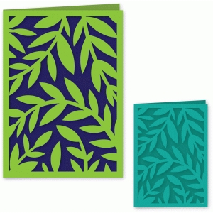 folded vine card 5 x 7