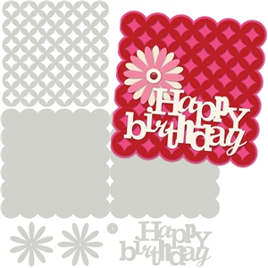 card kit happy birthday