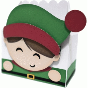 cute boy elf box
