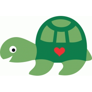 cute sea turtle love