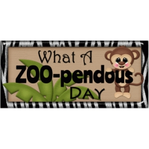 what a zoo-pendous day title