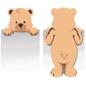 bear bookmark