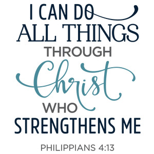 i can do all things through christ phrase