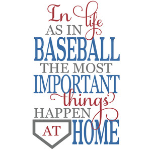in baseball & home title