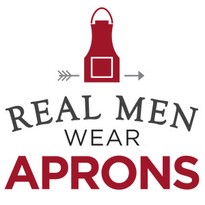 real men wear aprons phrase