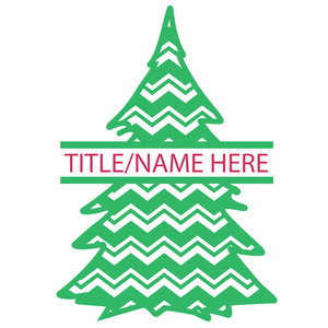 split tree chevron title