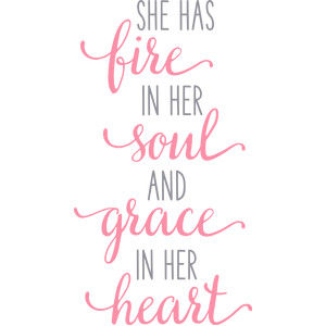 fire soul grace heart