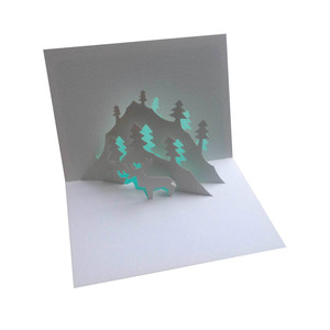alpine popup card