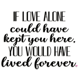 if love alone
