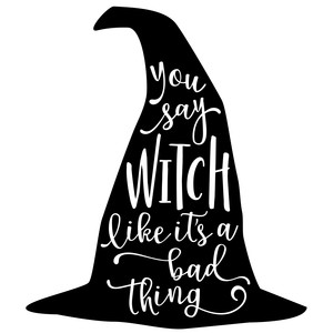 you say wicked - witch hat phrase