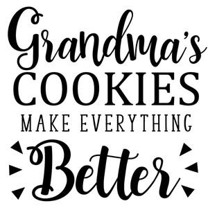 grandma's cookies make better