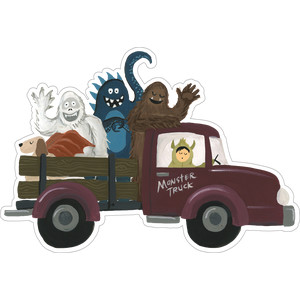 truck with monsters
