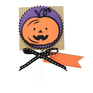 lollipop pumpkin
