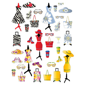 fun fashion planner stickers