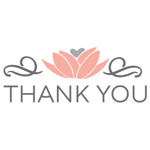 thank you - wedding design