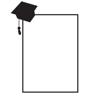 rectangle graduate frame