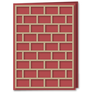 card a6 overlay brick mortar