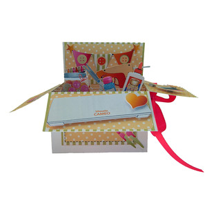 crafter's pop up card in a box