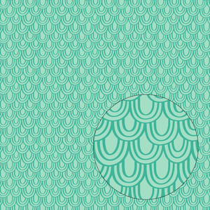 mermaid scales pattern