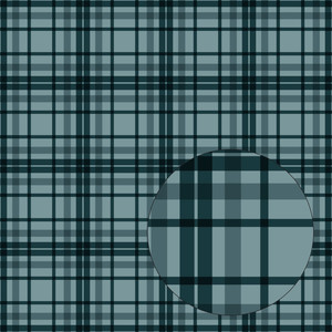 teal blue plaid seamless pattern