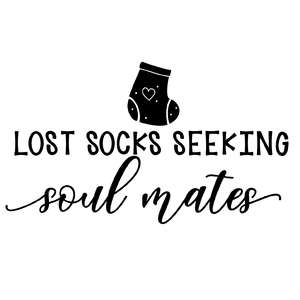 lost socks looking soul mates