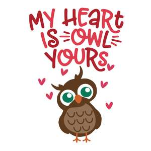 my heart is owl yours