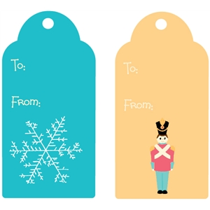 christmas gift tags - set 1