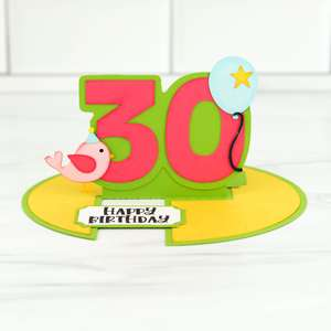 IMPOSSIBLE CARD BIRTHDAY AGES 1-100