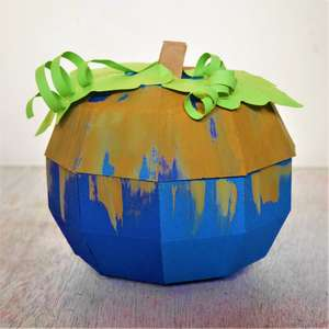 pumpkin flower/treat box