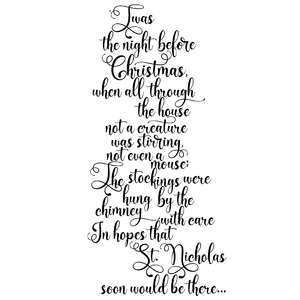twas the night before christmas quote