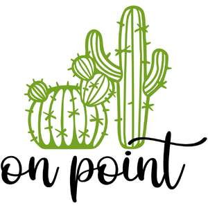on point cactus
