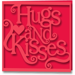 cards hugs and kisses